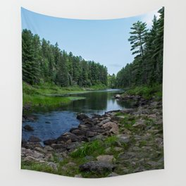 Boundary Waters River Wall Tapestry