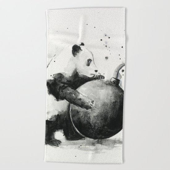 Panda Boom Beach Towel