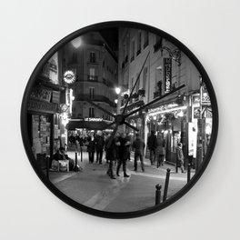 Latin Quarter, Paris Wall Clock