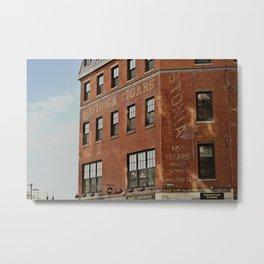 Bostonia Cigars Metal Print