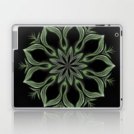 Alien Mandala Swirl Laptop & iPad Skin