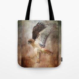 Evening Hawk Tote Bag