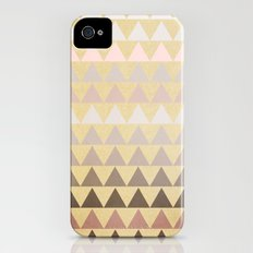 Muted Triangles iPhone (4, 4s) Slim Case