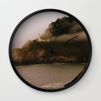 lighthouse Wall Clocks featuring Lighthouse by Victoria's View