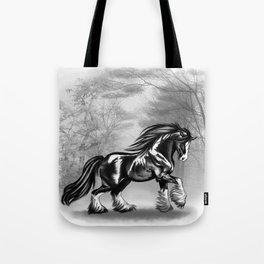 Black Shire Tote Bag