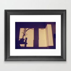 view from my window . iii Framed Art Print