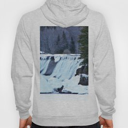 Waterfalls in Winter Hoody