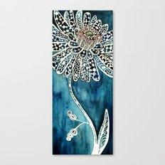 Flower Paintings: Lace Flower Canvas Print