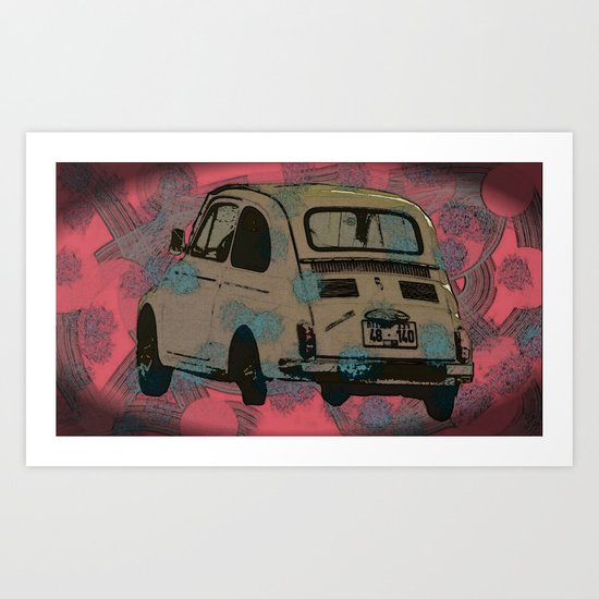 Who's gonna drive you home? Art Print