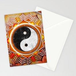 Yin Yang - Healing Of The Orange Chakra Stationery Cards