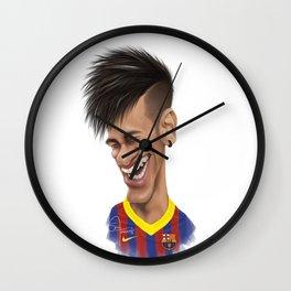 Neymar - Barcelona Wall Clock