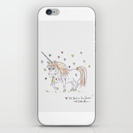 Get  Back O Your Unicorn iPhone Skin