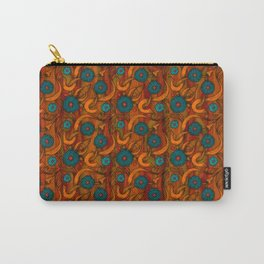 Vintage Poppy Carry-All Pouch