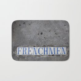 New Orleans Frenchman Street Bath Mat