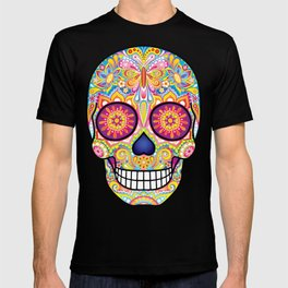 Sugar Skull Art (Mariposa) T-shirt