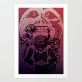 You've met with a terrible fate, haven't you? Art Print