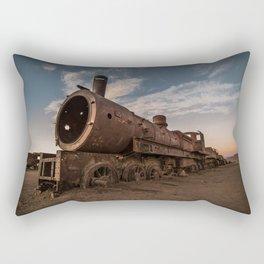 Train Cemetery, Uyuni Rectangular Pillow