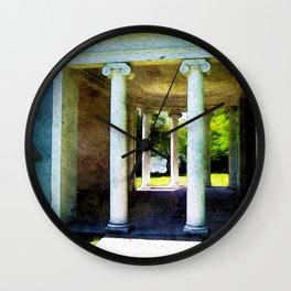 Broken Down Palace Wall Clock