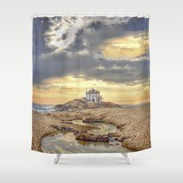 Hermitage sea Shower Curtain