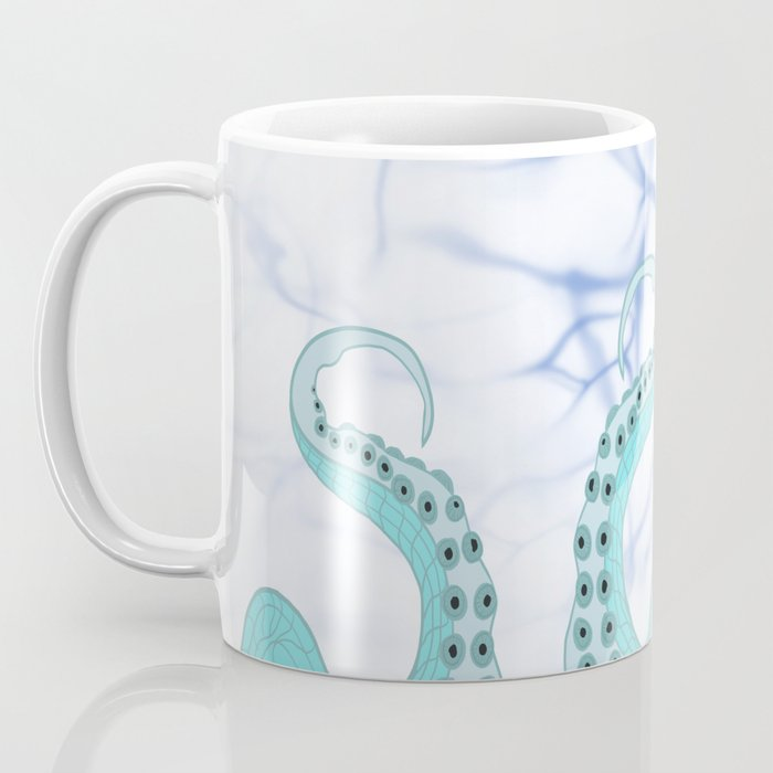 Wrapped In Tentacles Coffee Mug