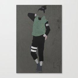 Shikamaru Canvas Print
