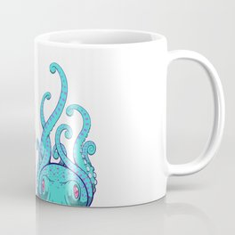 Octopuses (Pink and Blue) Coffee Mug