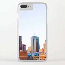 Dallas Clear iPhone Case
