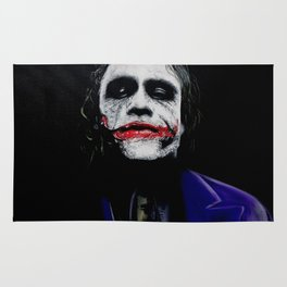 "The Joker ""Heath Ledger"" Rug"