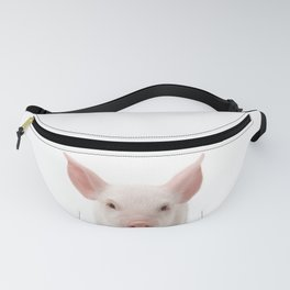 Baby Pig, Piglet, Baby Animals Art Print By Synplus Fanny Pack