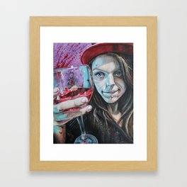 Heres to you Framed Art Print