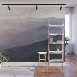 Smoky Mountains Sunset - Wanderlust Nature Photography Wall Mural