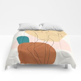 Summer Dance II Comforters