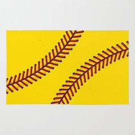 Fast Pitch Softball Rug
