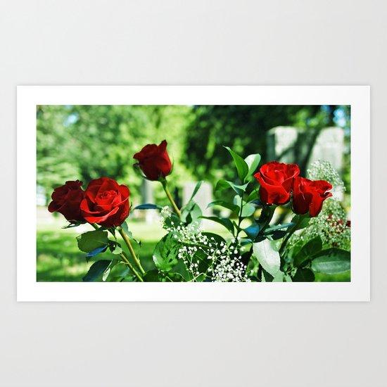 Symbolic beauty Art Print