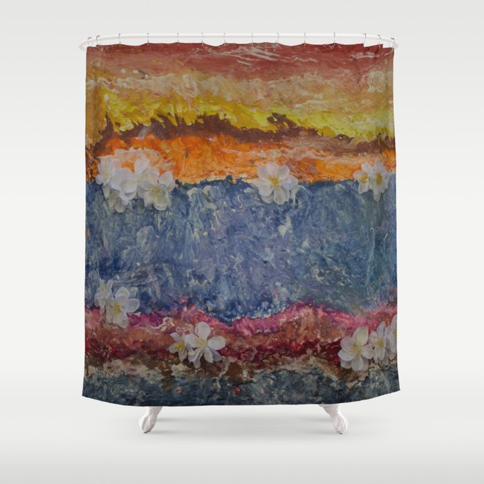 Shalom Shower Curtain