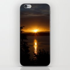 Puget Sound Sunset iPhone & iPod Skin
