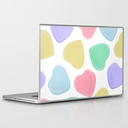 Candy Conversation Hearts Pattern Laptop & iPad Skin