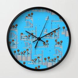 Mega Platformers Wall Clock