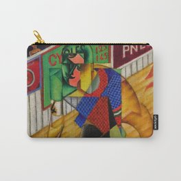 LE CYCLISTE (The Bicyclist) by Jean Metzinger Carry-All Pouch