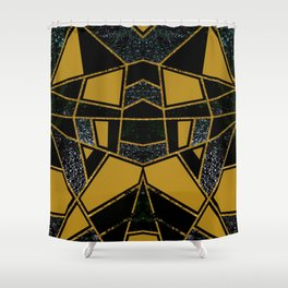 Abstract #546 Shower Curtain
