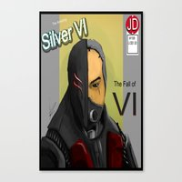 doom Canvas Prints featuring Doom by Xenn