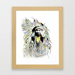 Hinmatóowyalahtq̓it -- Chief Joseph Framed Art Print
