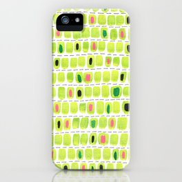 Green Vibes iPhone Case