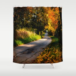 Autumn Dreams. Shower Curtain