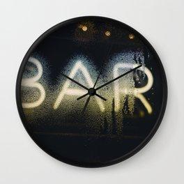 BAR Wall Clock