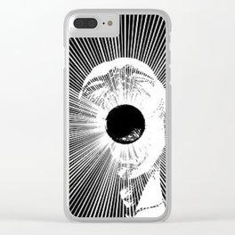 screamer Clear iPhone Case