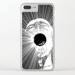 screamer Clear iPhone Case