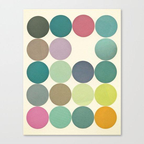 Circles I Canvas Print
