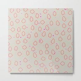 Speckle Metal Print