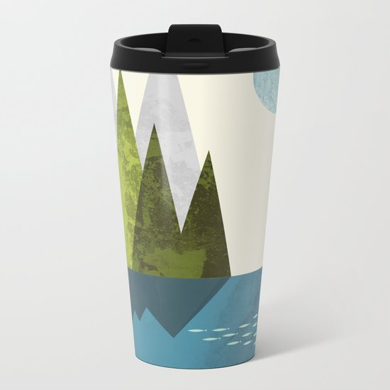 Earth Metal Travel Mug
